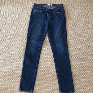 Paige blue denim skinny jeans